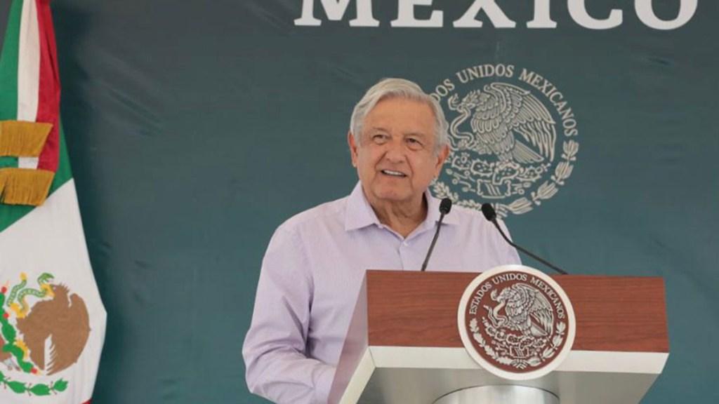 """""""El país está en calma"""", afirma el presidente López Obrador - Andrés Manuel López Obrador en Ensenada"""