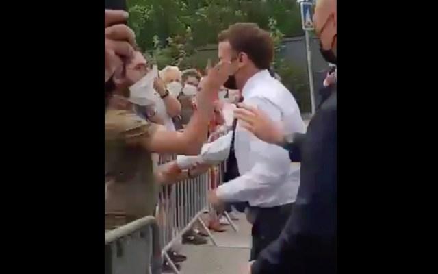 Condenado a cuatro meses de cárcel el hombre que abofeteó a Macron - Macron bofetada Francia