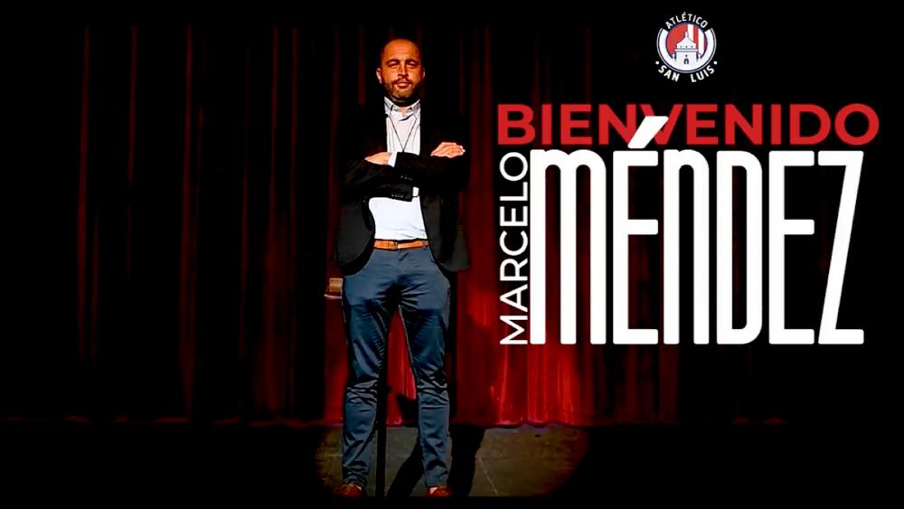 El uruguayo Marcelo Méndez entrenará al San Luis - Marcelo Méndez San Luis