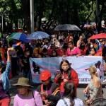 Miles de personas participan en la marcha del Orgullo LGBT+ en Ciudad de México - Realizan Marcha del Orgullo Gay. Foto de Homosensual