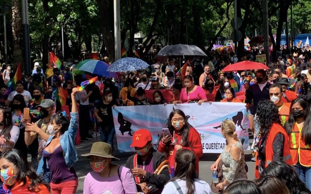 Marcha del Orgullo Gay: Ciudad de México se llena de Orgullo - Realizan Marcha del Orgullo Gay. Foto de Homosensual