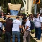 Miles de mexicanos conmemoran y exigen justicia a 50 años del 'Halconazo' - Marcha Halconazo Ciudad de México antimonumento