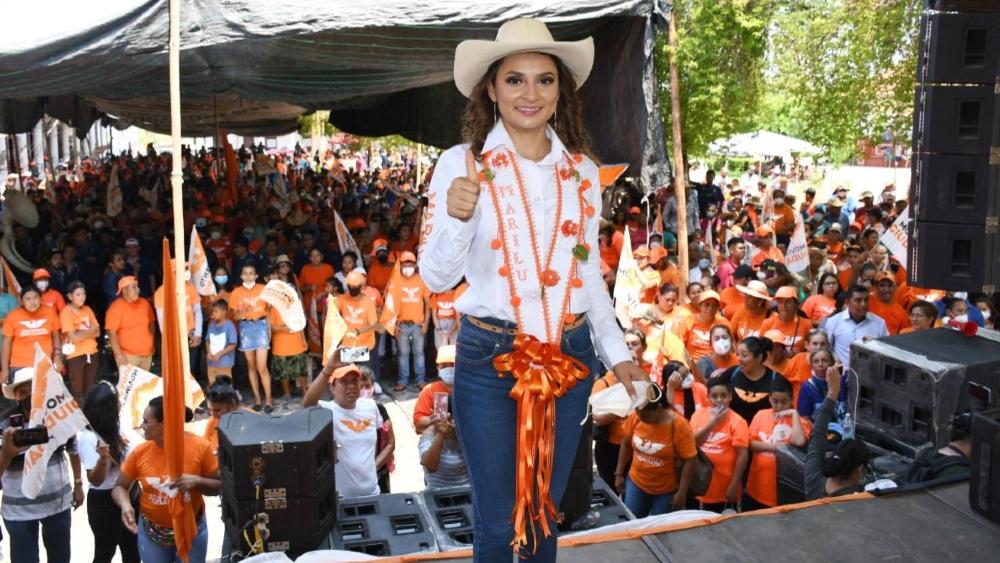 Secuestran a la candidata de Movimiento Ciudadano a la alcaldía de Cutzamala de Pinzón, Guerrero - Marilú Martínez Núñez Movimiento Ciudadano