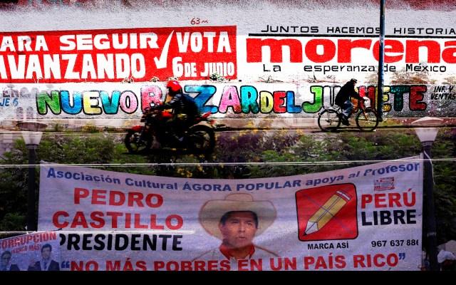 Perú y México definen rumbos mañana - Composición propia a partir de fotos de EFE.