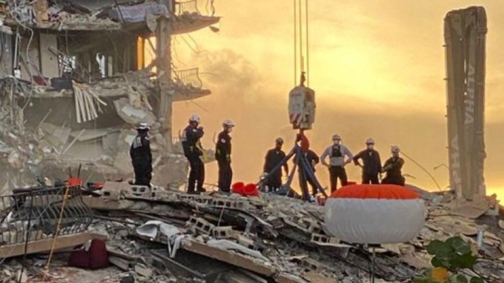 Topos aún no inician operaciones en Miami; autoridades buscan el mejor momento para que entren - Miami derrumbe edificio muertos