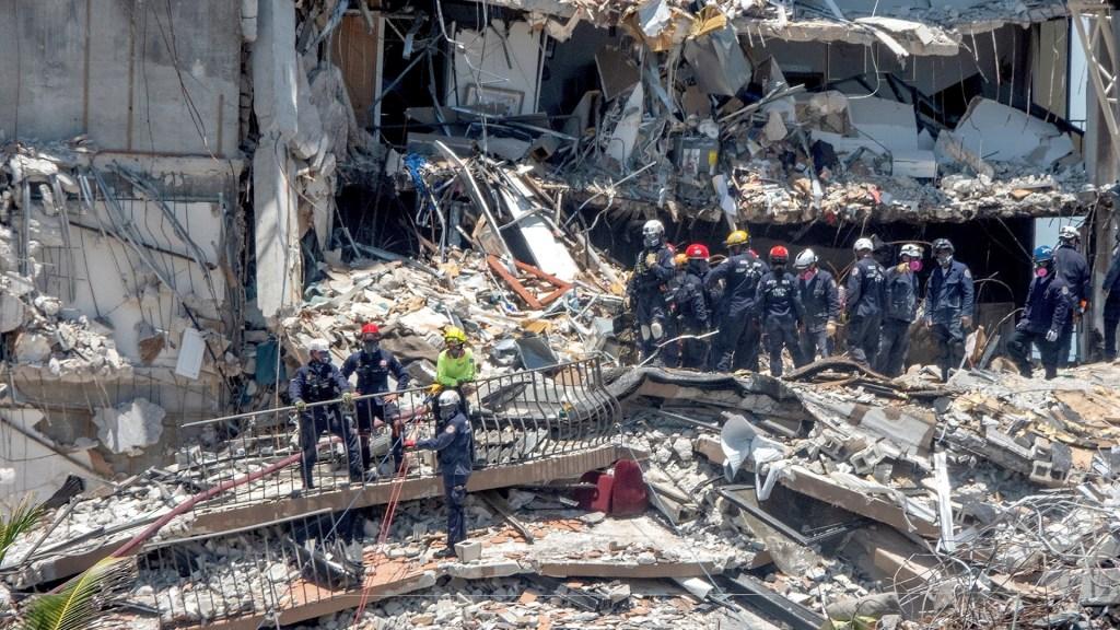 Miami edificio derrumbado Florida