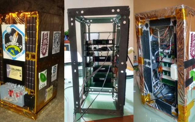NASA prueba sistemas satelitales desarrollados por la UNAM e IPN - Módulo Experimental para el Diseño Iterativo de Subsistemas Satelitales versión 2. Foto de UNAM