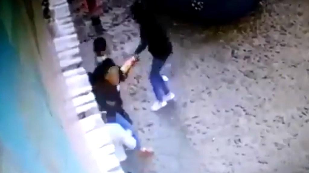 #Video Secuestran a dueña de restaurante en Apatzingán, Michoacán - Mujer secuestro Michoacán Apatzingán