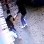 #Video Secuestran a dueña de restaurante en Apatzingán, Michoacán