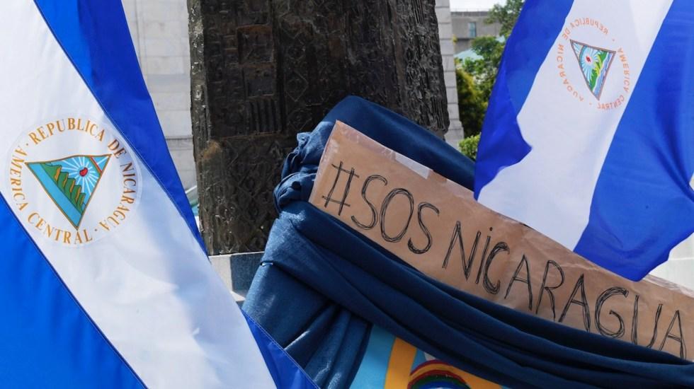 """Congreso expresa """"preocupación"""" por agresiones en Nicaragua - Familiares de opositores detenidos en Nicaragua exigen poder verlos. Foto de EFE"""
