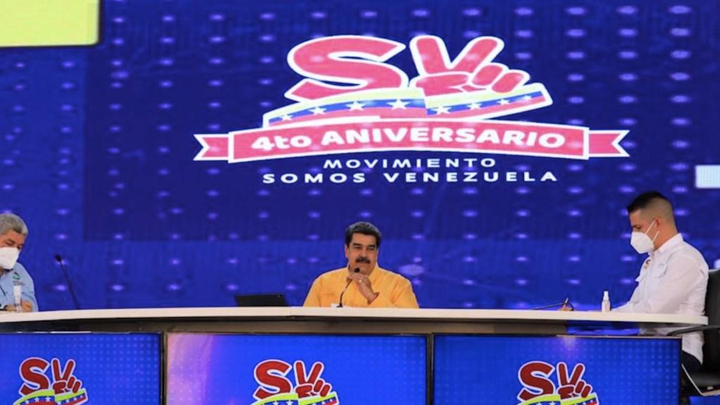 """Maduro le exige a Biden que """"desbloquee dinero de vacunas"""" contra COVID-19 - Maduro le exige a Biden que"""