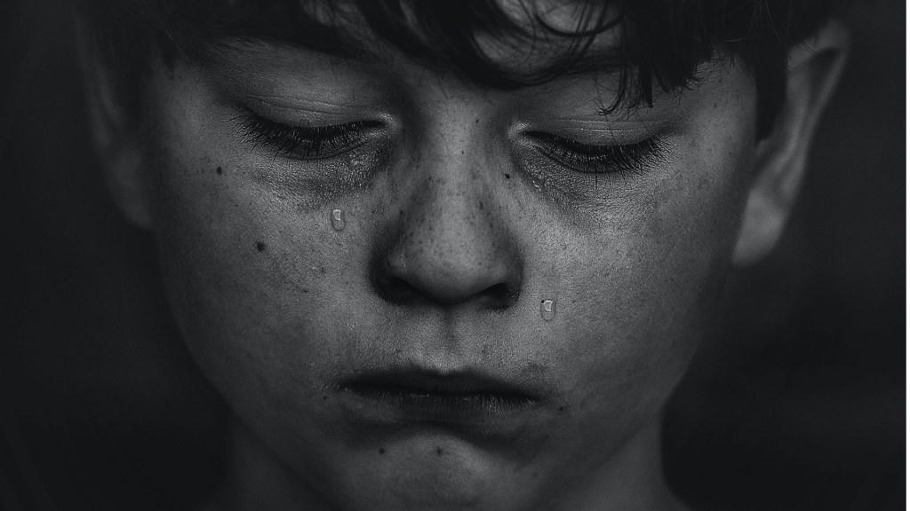 Niño triste depresión niños México