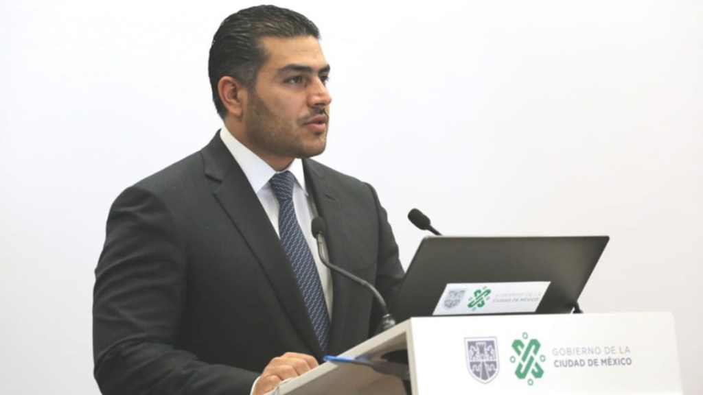 Hospitalizan a Omar García Harfuch; le retirarán esquirlas de bala - Omar García Harfuch secretario Seguridad Ciudadana