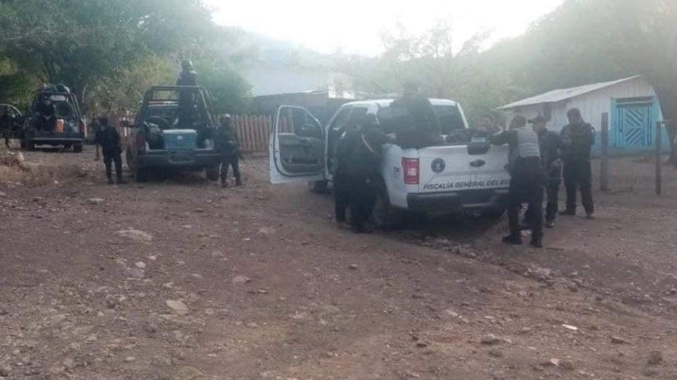 Autoridades de Guerrero mantienen operativo de seguridad en El Pescado - Autoridades de Guerrero mantienen operativo de seguridad en El Pescado. Foto de Secretaría de Seguridad de Guerrero