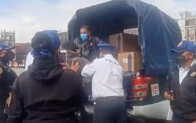 Separa SSC CDMX a policías tras agresiones a reporteros - periodistas detenidos policías SSC CDMX