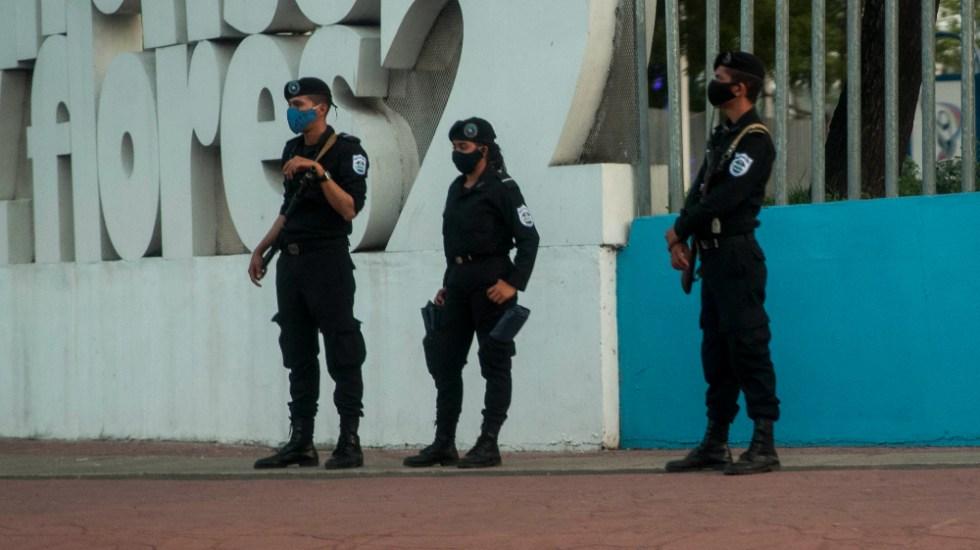 México y Argentina anunciarán próxima semana posición sobre Nicaragua: Ebrard - Policías Managua Nicaragua