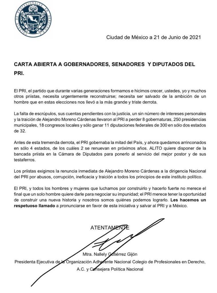 """Urgen a reconstruir el PRI tras """"la más grande y triste derrota"""""""