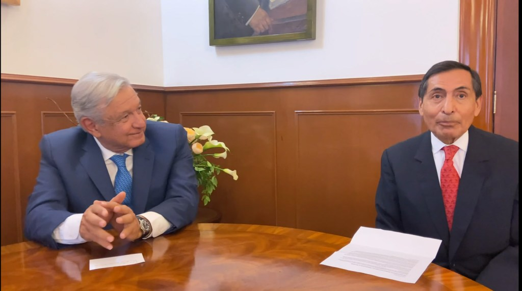 Ramírez de la O es secretario de Hacienda desde su nombramiento, aclara Sauri Riancho - Rogelio Ramírez De la O. Foto captura de pantalla.