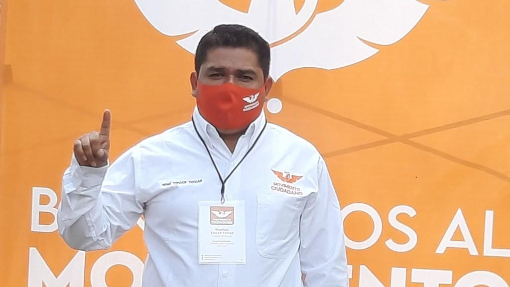 Detienen en Veracruz a jefe de campaña por asesinato del candidato René Tovar - René Tovar Tovar, candidato asesinado en Veracruz. Foto de Facebook