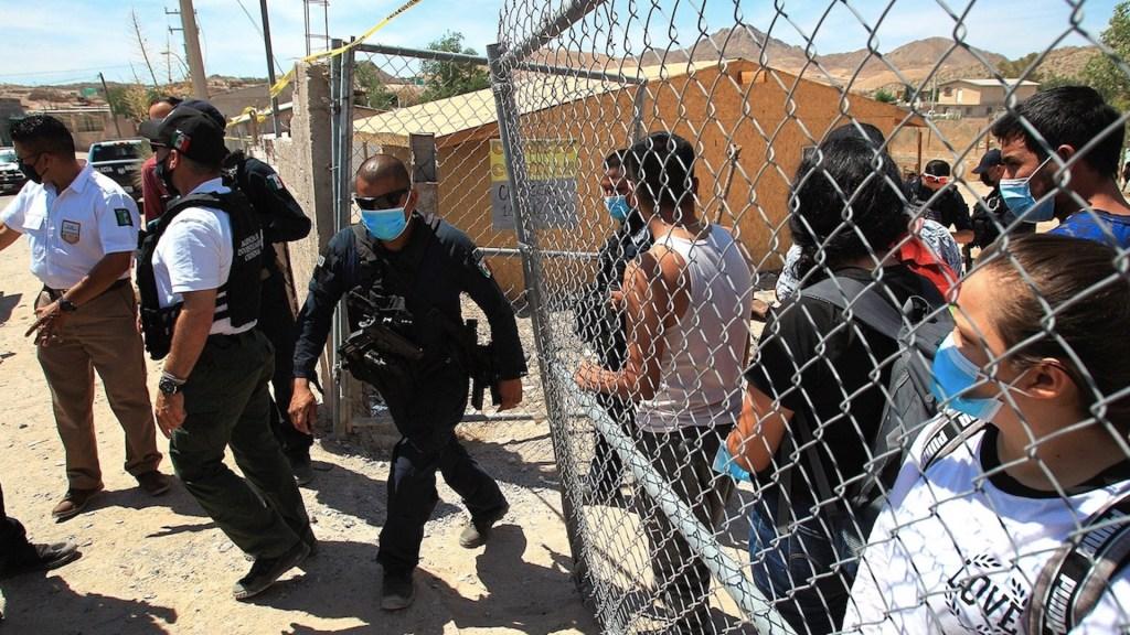Rescatan a 140 migrantes secuestrados en Ciudad Juárez - Rescatan a 140 migrantes secuestrados en Ciudad Juárez. Foto de EFE