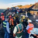 Rescatan cuerpo sin vida de minero atrapado en derrumbe en Coahuila
