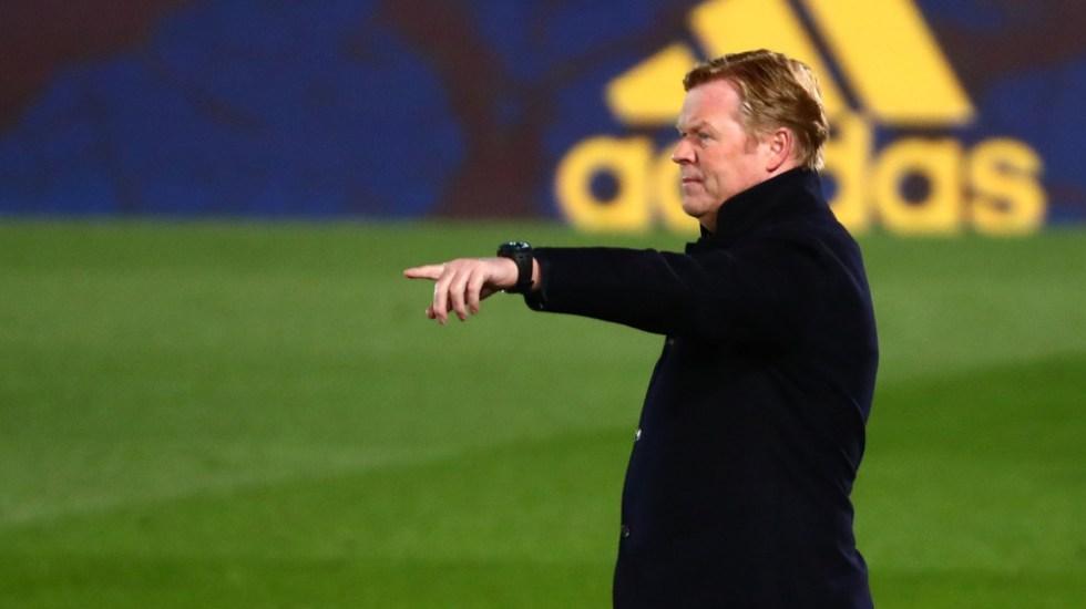 Ronald Koeman seguirá como entrenador del Barcelona - Ronald Koeman