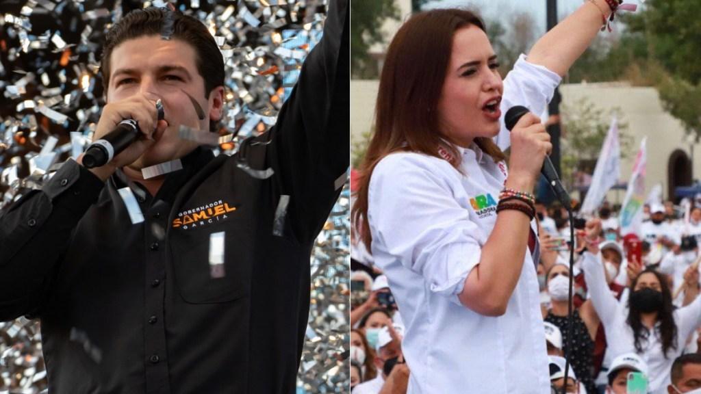 Samuel García deberá ofrecer disculpa pública a Clara Luz Flores - Samuel García y Clara Luz Flores