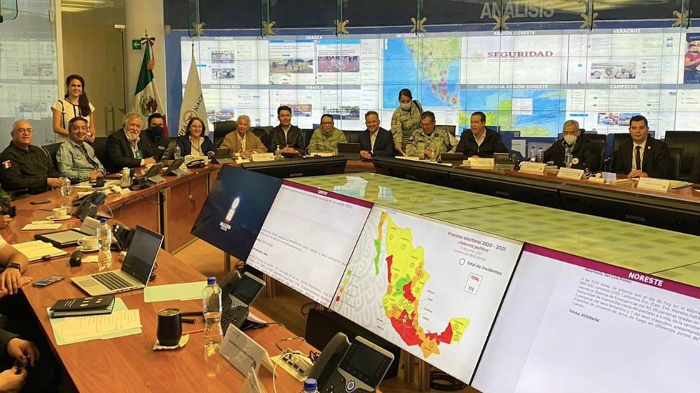 Santiago Nieto da seguimiento a la jornada electoral en materia de seguridad - Santiago Nieto monitorea las elecciones en seguridad. Foto de Twitter Santiago Nieto