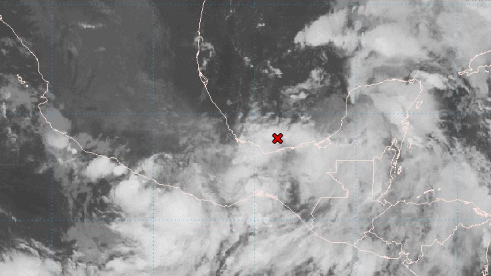 Meteorólogos vigilan posible tormenta tropical en Golfo de México - sistema baja presión Golfo de México ciclón 16jun21