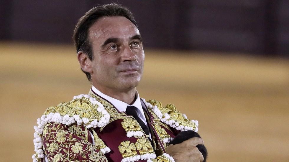 Enrique Ponce anuncia sorpresivo retiro indefinido de los ruedos - Torero Enrique Ponce