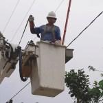 Restablecen al 100 % suministro eléctrico en zonas afectadas por 'Dolores'