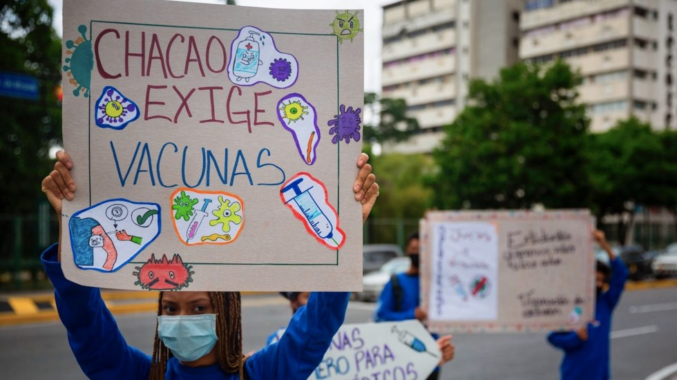 Médicos venezolanos preocupados por inmunización con Abdala - Médicos venezolanos preocupados por inmunización con Abdala. Foto de EFE