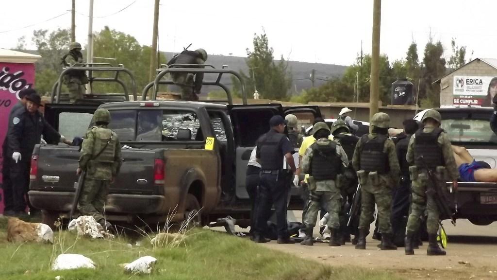 Zacatecas enfrentamiento muertos valparaíso
