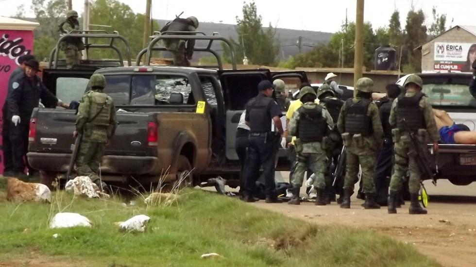 Violencia en México se gestó en el pasado: AMLO - Zacatecas violencia Sombrerete enfrentamiento