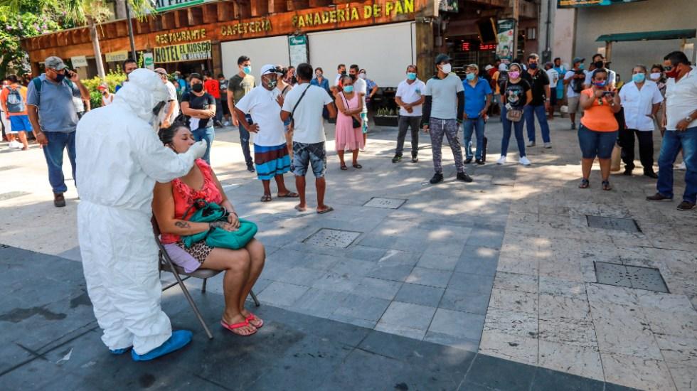 México registró por tercer día consecutivo más de 12 mil contagios de COVID-19 - Acapulco México COVID coronavirus Guerrero
