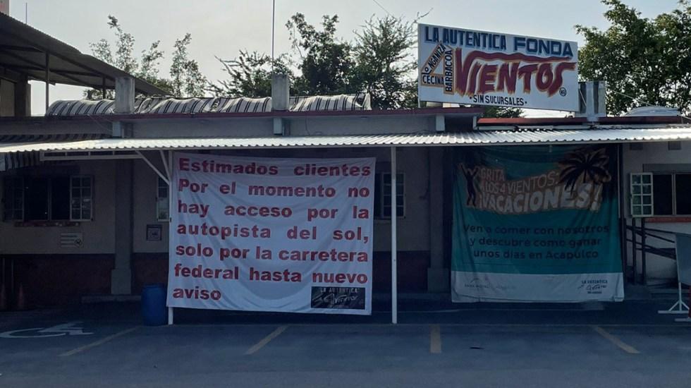 Fonda Cuatro Vientos denuncia extorsión por presunto delegado de Capufe - Restaurante Cuatro Vientos.