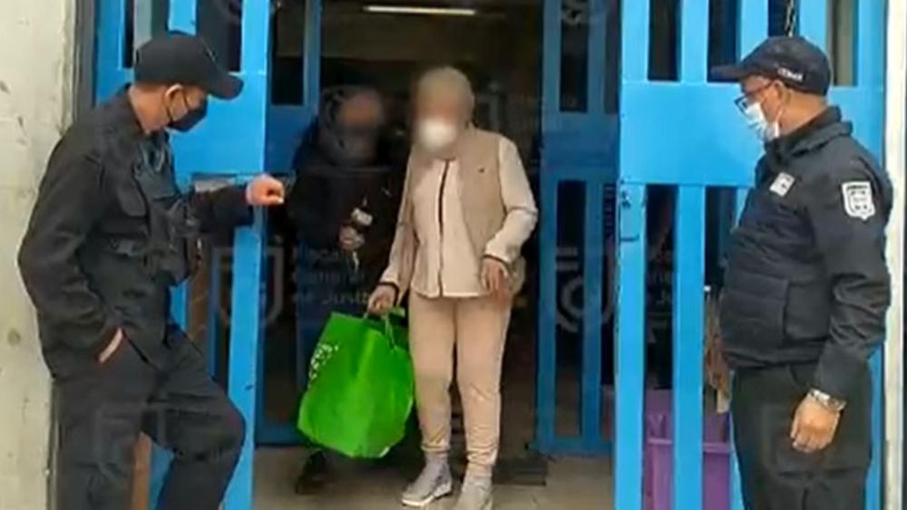 Trasladan a Alejandra Barrios a sitio de prisión domiciliaria - Alejandra Barrios sale penal