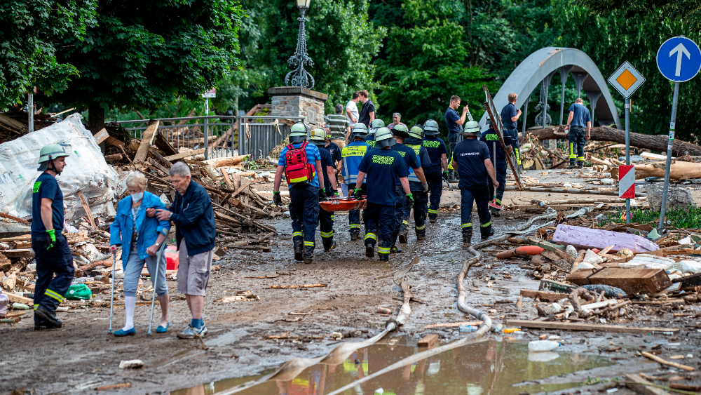 Devastador temporal azota el oeste alemán, con 50 muertos en 24 horas - Alemania temporal