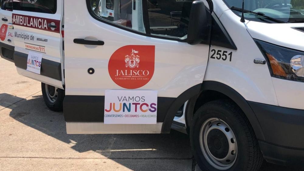 Ambulancia Jalisco paramédicos Huejuquilla