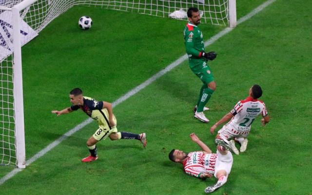 América logra su primera victoria en el Apertura 2021 - América Álvaro Fidalgo