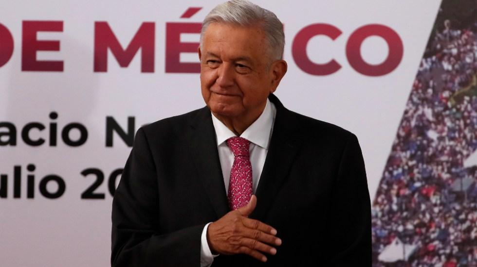 """""""Los logros están a la vista"""", dice AMLO en informe por tercer año de triunfo electoral - AMLO López Obrador 10 informe"""