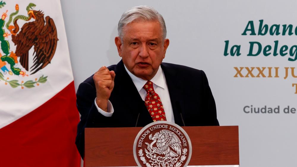AMLO Lopez Obrador abanderamiento nota diplomática