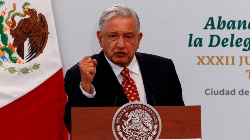 López Obrador se reunirá con gobernadores para revisar la seguridad - AMLO Lopez Obrador abanderamiento nota diplomática