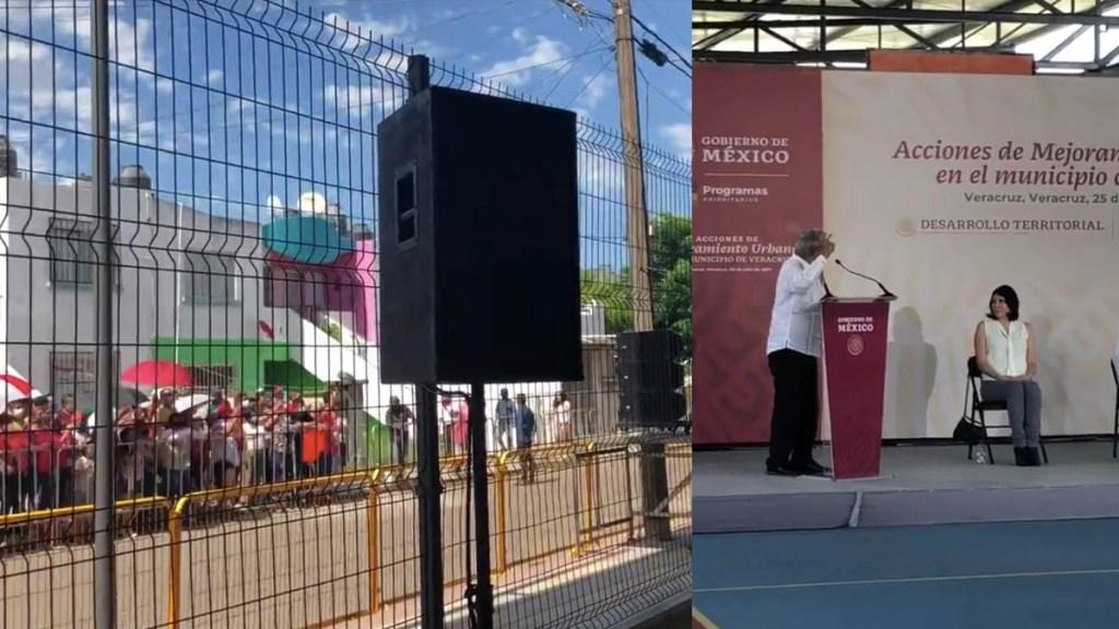 AMLO pide 'comprensión' a la autoridad electoral por acto en Veracruz - AMLO López Obrador Veracruz