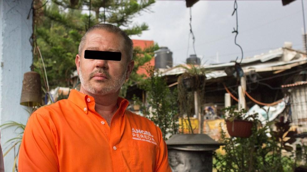 Detienen en Nueva York a excandidato de MC por cargos de fraude - Ángel Pereda, excandidato por MC a la alcaldía de San Andrés Cholula, Puebla. Foto de @AngelPeredaE