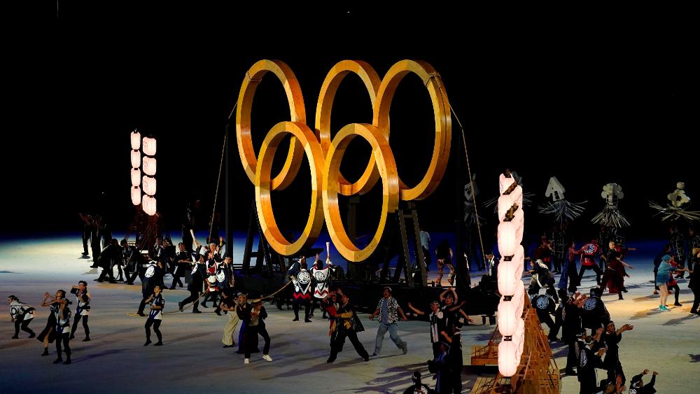 Anillos Olímpicos Tokio 2020 inauguración