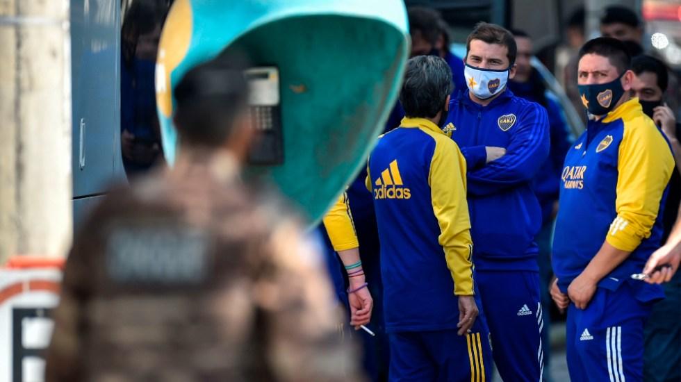 Eliminación de Boca Juniors en Copa Libertadores termina en pelea - Boca Juniors Comisaria Brasil detenidos