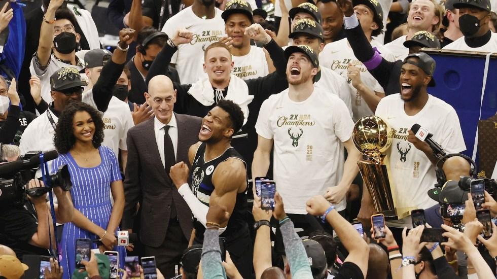 Bucks de Milwaukee campeones de la NBA por primera vez en 50 años - Bucks Milwaukee Suns NBA
