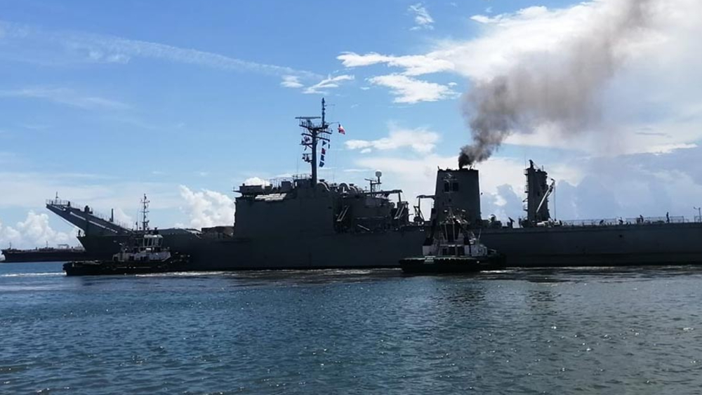 Desde Veracruz, zarpa el tercer barco a Cuba con ayuda humanitaria - buque Papaloapan ayuda Cuba Veracruz
