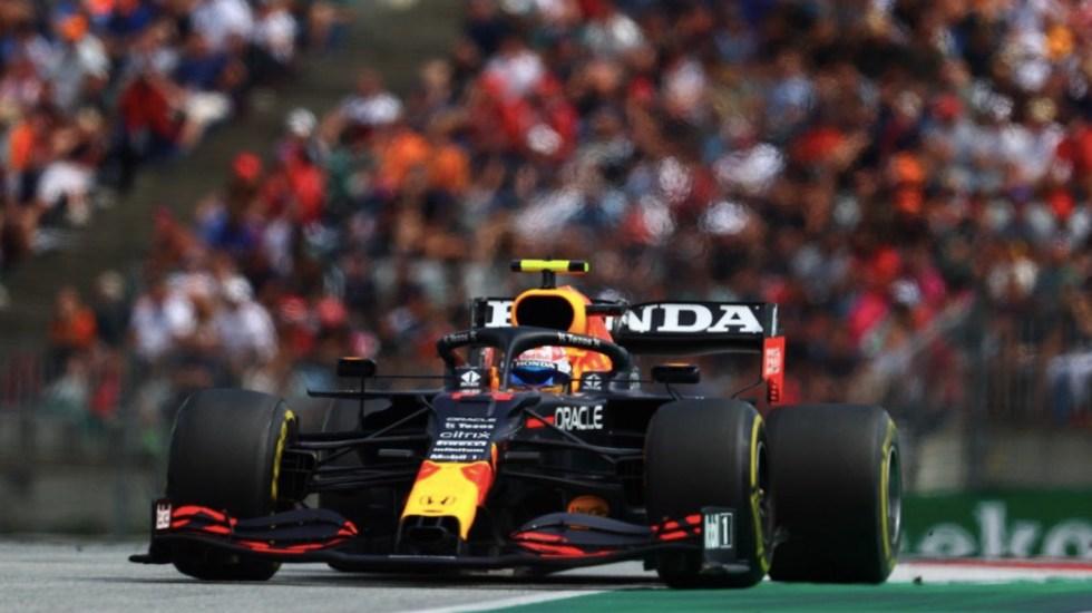'Checo' Pérez saldrá último en el Gran Premio de Gran Bretaña; Verstappen se lleva la pole - 'Checo' Pérez saldrá último en el Gran Premio de Gran Bretaña; Verstappen se lleva la pole. Foto de Twitter @SChecoPerez